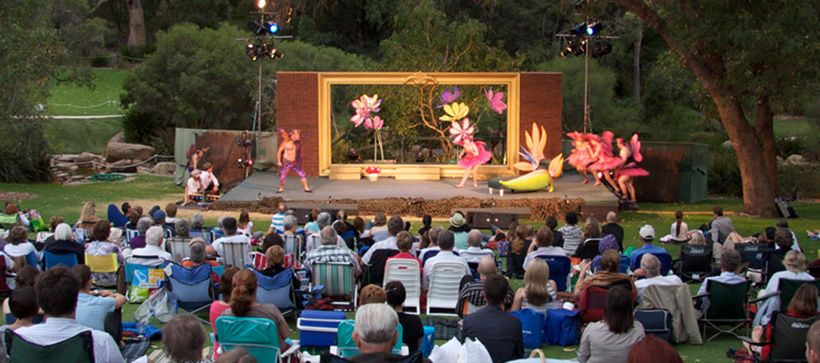 Our theatre In Kings Park and Botanic Garden, Perth.